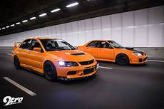 Subaru Wrx Sti Mitsubishi Evolution 9 The Orange