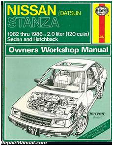 what is the best auto repair manual 1986 toyota mr2 spare parts catalogs used haynes datsun nissan stanza 1982 1986 auto repair manual