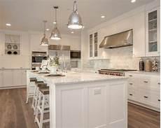 Houzz Kitchen Tile Backsplash Farmhouse Kitchen With Tile Backsplash Design Ideas
