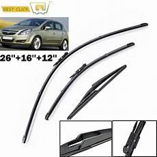 misima windshield windscreen wiper blades kit set for opel