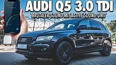 das beste soundmodul im audi q5 3 0 tdi active sound