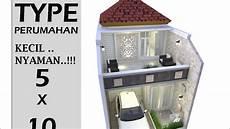 Desain Rumah Minimalis 5x10