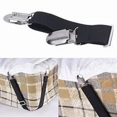 8x adjustable mattress bed sheet grippers straps suspender fastener holder ebay