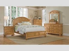 Light Wood Queen Bedroom Sets: Pine, Oak, Beige, Cream