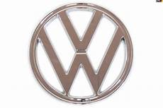 vw nose emblem chrome plastic 7 quot vw emblems vw