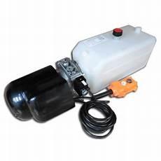 verin electrique 12v effet centrale hydraulique 24v camion benne remorque