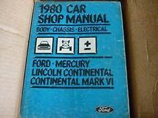 free service manuals online 1984 ford ltd crown victoria transmission control 1980 ford ltd crown victoria lincoln continental shop manual ebay