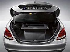 Genuine Oem Mercedes C Class W205 Black Trunk Comfort