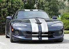 Dodge Viper Black Royalty Free Stock Image  10707046