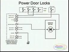 Power Door Locks Wiring Diagram