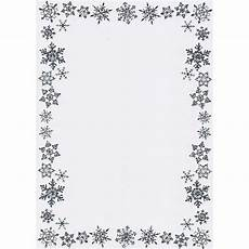 printable christmas border writing paper a5 snowflake border card blanks and envelopes silver