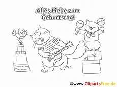 Ausmalbilder Geburtstag Katze Katze B 228 R Malvorlage Zum Geburtstag