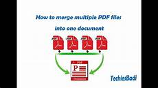 How To Merge Pdf Files Into One Document