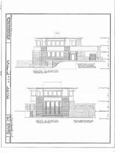 frank lloyd wright prairie house plans frank lloyd wright prairie home brick wood stucco