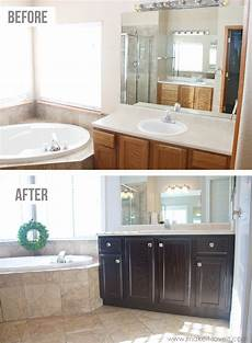 how to stain oak cabinets the simple method without sanding make it and love it