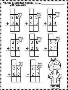 addition without regrouping for grade 1 digit addition and subrtraction printables with
