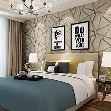 Schlafzimmer Tapete Modern - aliexpress buy luxury modern geometric prism 3d
