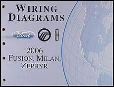 2006 ford fusion stereo wiring diagram 2006 ford fusion mercury milan lincoln zephyr wiring diagram manual original