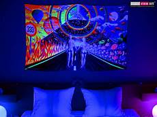 quot new horizons quot uv blacklight fluorescent glow psychedelic visionary art backdrop wall hanging