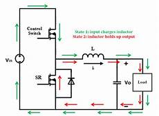 synchronous buck converter topology in its two primary states download scientific diagram