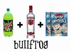 bullfrog take a 2 liter of mountain dew and pour it out