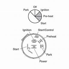 narva ignition switch wiring diagram narva 5 position diesel ignition switch with pre heat function