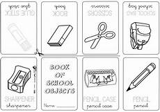 colors and school objects worksheets 12788 school objects coloring page classroom obj on number names worksheets a ki material