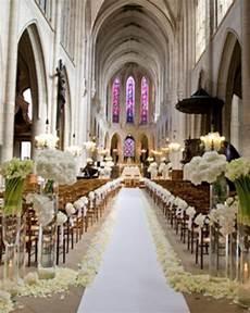 stylish white weddings weddings romantique ceremony church wedding decorations wedding