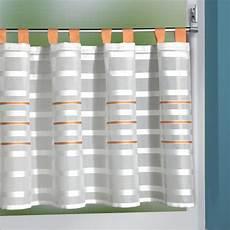 Scheibengardinen Mit Schlaufen - scheibengardinen mit schlaufen 140x50 cm in wei 223 mit gr 252 n