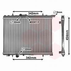 radiateur peugeot 206 radiateur moteur peugeot 206 de 1998 224 2002 radiateur