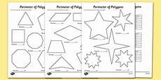 ks2 perimeter of polygons worksheets teacher made