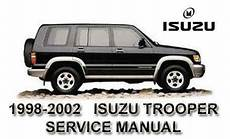manual repair free 1995 isuzu trooper on board diagnostic system isuzu trooper repair manual ebay