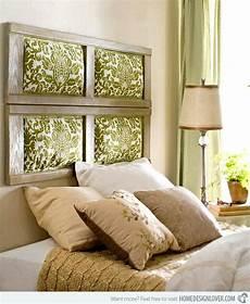 tetes de lit originales relookez votre chambre 224 coucher avec une t 234 te de lit