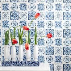Rasch Bathroom Wallpaper by Rasch Floral Tile Pattern Wallpaper Kitchen Bathroom Leaf