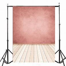 5x7ft Pink Wall Wooden Floor Photo 5x7ft pink wall wooden floor photo studio photography