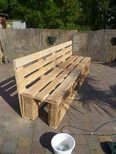 Pallets Garden Bench Banc De Jardin En Palettes