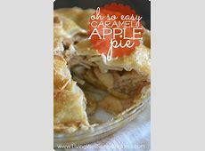 easy caramel apple tart_image