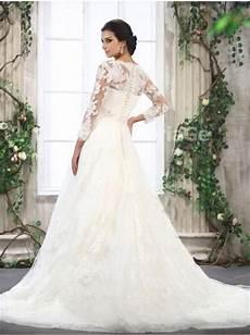robe de mari 233 e 233 l 233 gante avec manches longues pour mariage