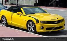 Yellow Camaro Convertible