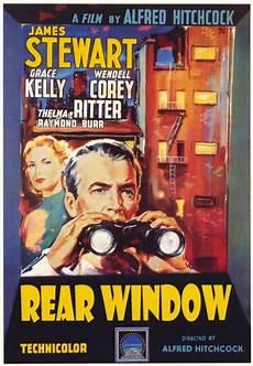 la finestra sul cortile hitchcock locandina la finestra sul cortile rear window