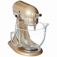 Mixer Glass Bowl by Kitchenaid 5 Quart Stand Mixer Glass Bowl Copper Pearl