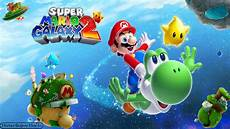 mario galaxy 2 title screen file options