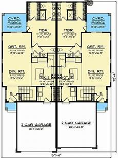 narrow lot duplex house plans plan 890093ah modern duplex house plan for a rear sloping