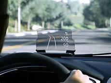 navigate without distraction with this glass heads up