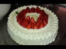 decorazioni torte con panna montata torta alla panna ideale per il compleanno torta chantilly youtube