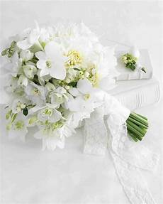 Wedding Flowers And White