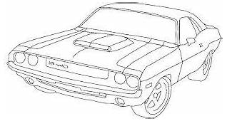 Image Result For Dodge Charger Coloring Pages  Cars