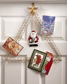 santa over the door holiday card holder from collections etc
