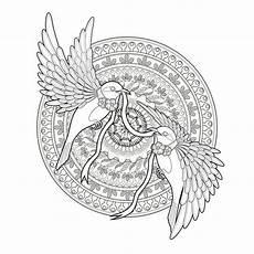 vogel suche in 2020 mandala ausmalen vogel