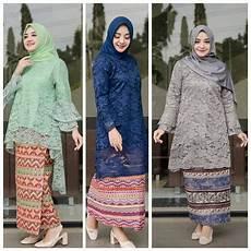 24 Model Kebaya Batik Modern Inspirasi Wanita Terbaru